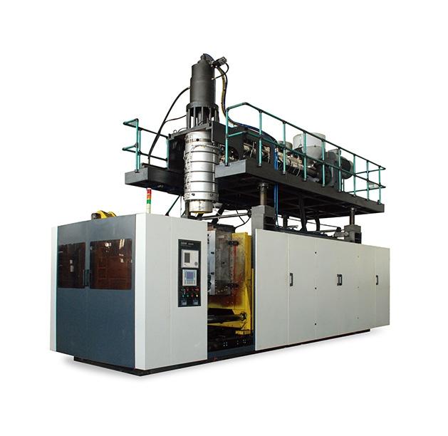 全球大型储料式2-3层共挤中空成型机DHB-M200
